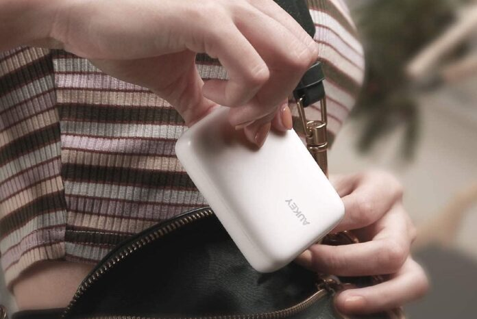 AUKEY Smallest 10000mAh Power Bank