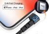 Apple MFi Certified 90 Degree iPhone Lighting Cable