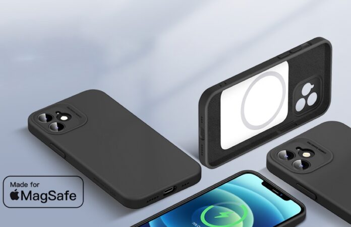 ESR Cloud Soft Case with MagSafe Compatible with iPhone 12 Case