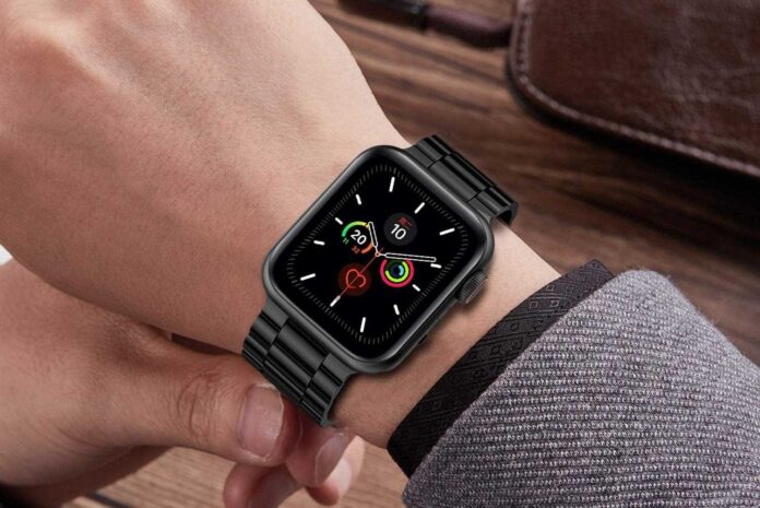Fitlink Stainless Steel Metal Band for Apple Watch