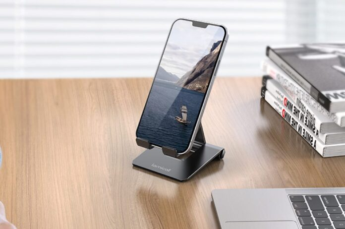 Lamicall Adjustable Cell Phone Stand for Desk