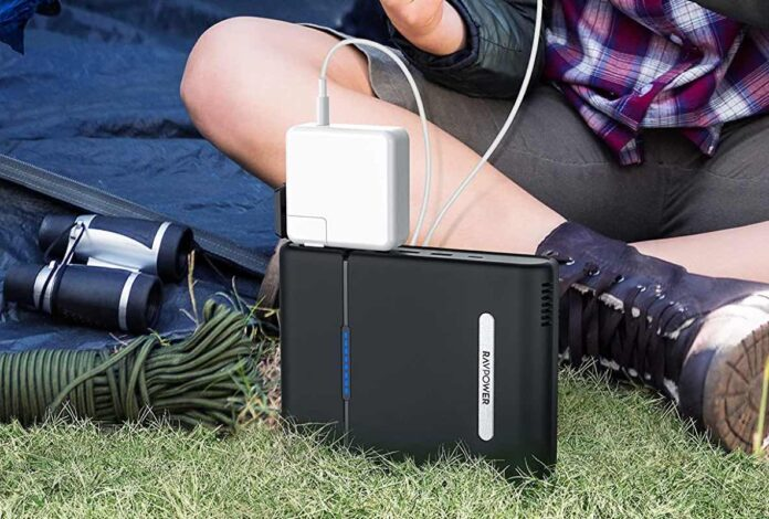 RAVPower USB C Power Bank 30000mAh