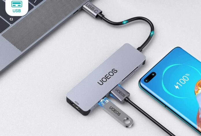 UOEOS 5 in1 USB C to HDMI Adapter