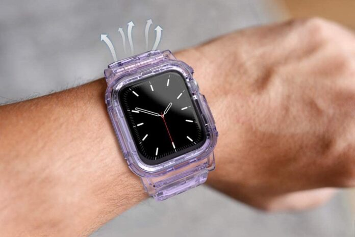 AHASTYLE Crystal iWatch Band Strap