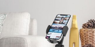 APPS2Car Adjustable Cell Phone Stand