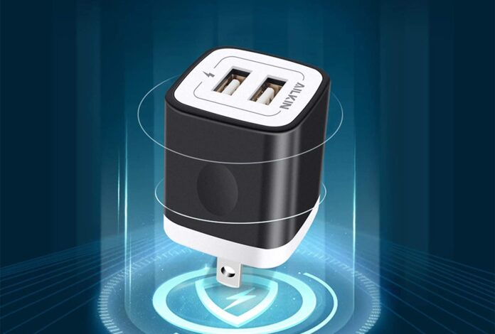 Ailkin 2.1A Multiport Fast Charge Power Brick