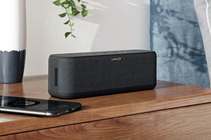 Anker Soundcore Boost Bluetooth Speaker with Well-Balanced Sound