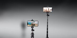 Bluehorn Portable 40 Inch Aluminum Alloy Selfie Stick Phone Tripod