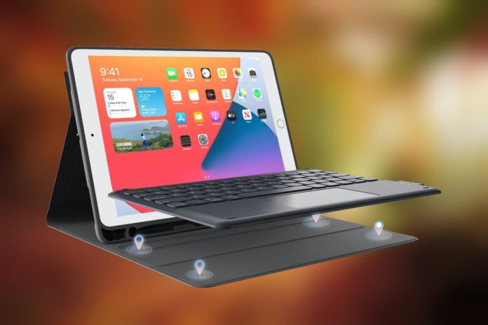 CHESONA iPad 8th Generation Case with Keyboard