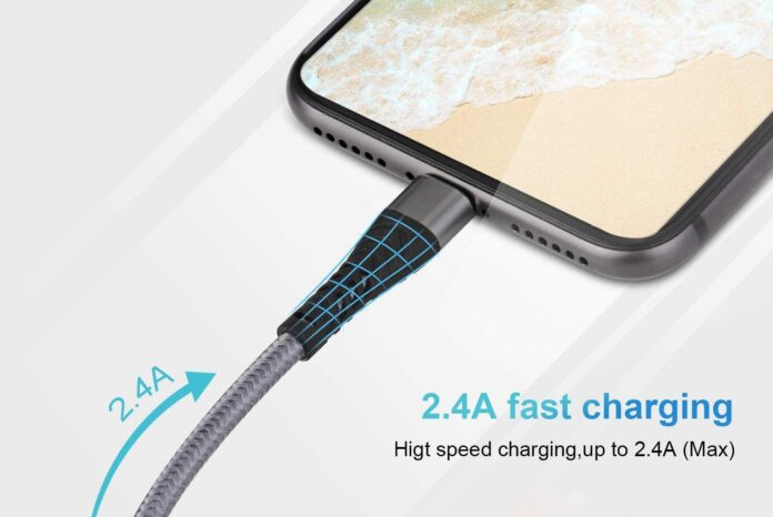 FEEL2NICE 2 Pack [Apple MFi Certified] Lightning Cable