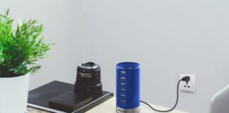 Jelly Comb 6 Port USB Desktop Charging Station