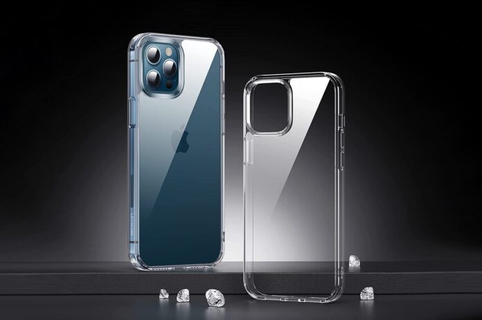 LETSCOM Crystal iPhone 12:Pro Clear Case