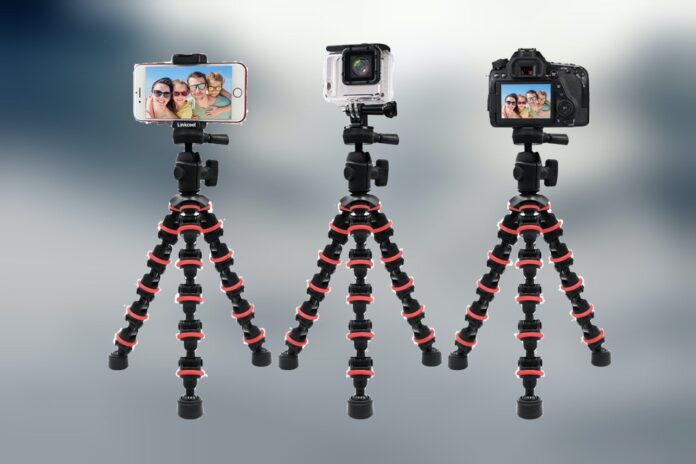 Linkcool Octopus Tripod with Wireless Remote