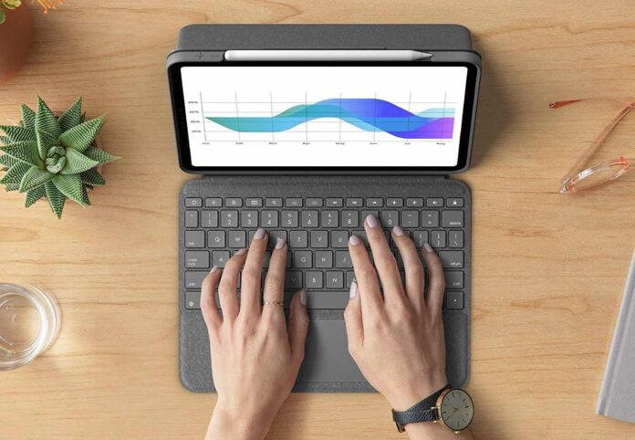 Logitech Folio Touch iPad Keyboard Case with Trackpad