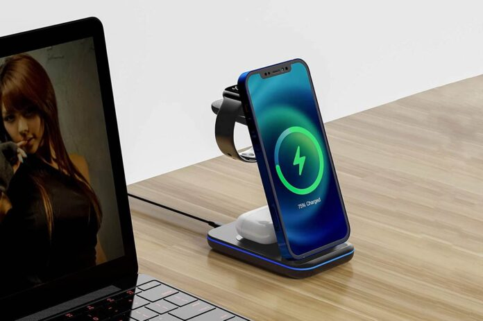 MOING 3 in 1 Wireless Charger