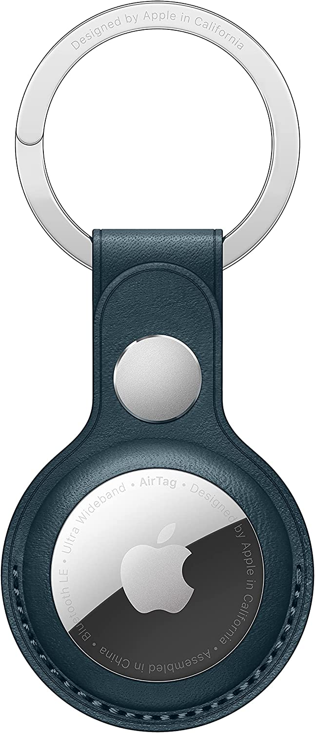 New Apple AirTag Leather Key Ring
