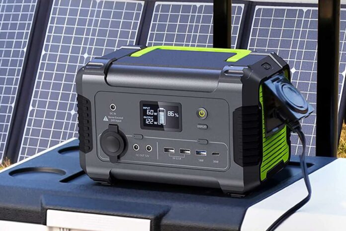 PAXCESS Portable Power Station 200W