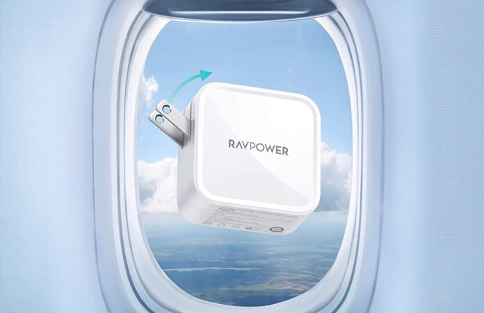 RAVPower 2-Port PD GaN Charger Fast Charging Wall Charger
