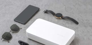 Samsung Qi Wireless Charger and UV Sanitizer