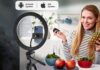 TONOR 12 Large Selfie Ring Light with Stand