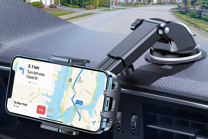 VICSEED [2021 Military-Grade Doesn't Melt & Fall] Cell Phone Holder