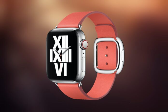 official Apple Watch Modern Buckle Band