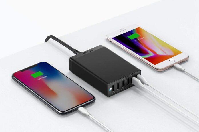 Anker 60W 6 Port USB Charging Station