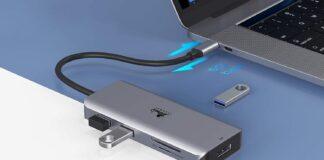 LIONWEI USB C Hub Triple Display