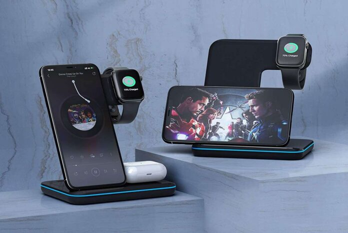 Moing 3-in-1 Wireless Charger Stand