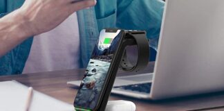 Muleug 3 in 1 Wireless Charger