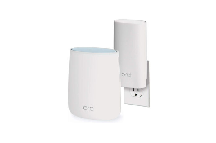 NETGEAR Orbi Compact Wall-Plug Whole Home Mesh WiFi System
