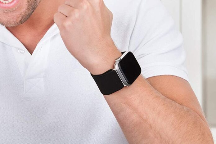Oumida 2 PACK Stretchy Apple Watch Bands