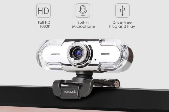 Papalook PA452 1080P 30FPS Webcam