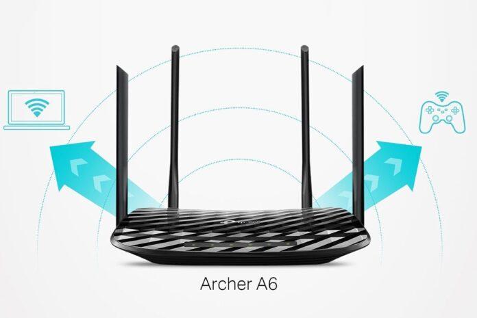 TP-Link AC1200 Gigabit WiFi Router