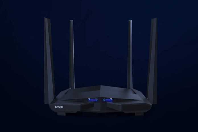 Tenda AC10U Smart Gigabit Wi-Fi Router