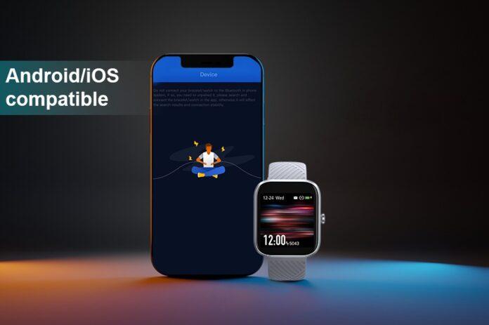 Virmee VT3 Fitness Tracker Smartwatch