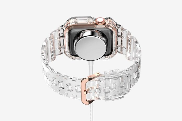 amBand Crystal Clear Jelly Protective Apple Watch Case
