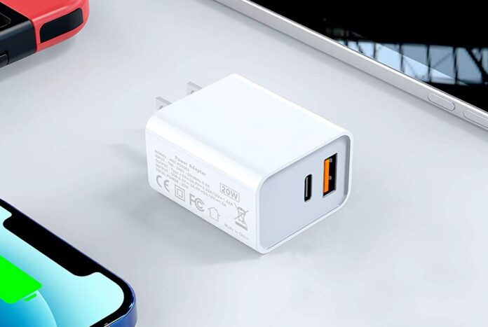 2-Pack TISSYEE 20W Dual-Port Wall Charger