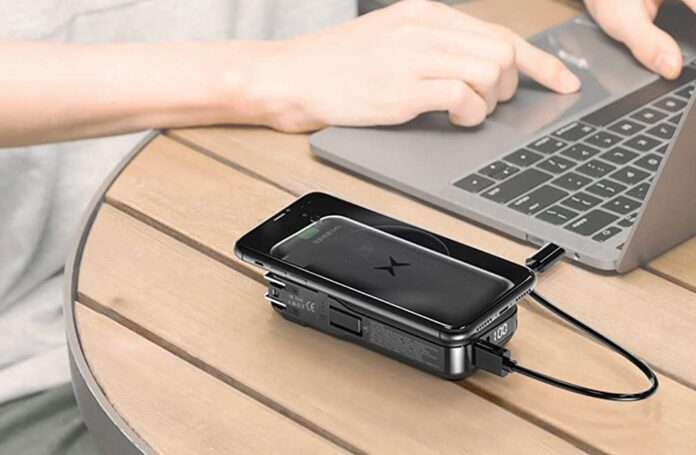 AIMPIRE Dual Wireless Charger & Power Bank