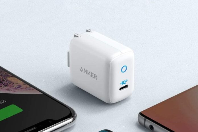 Anker 30W PIQ 3.0 USB-C Fast Charger Adapter