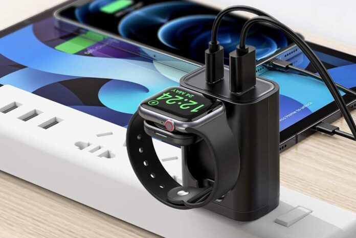 BeaSaf 3 in 1 multi-functional wall charger