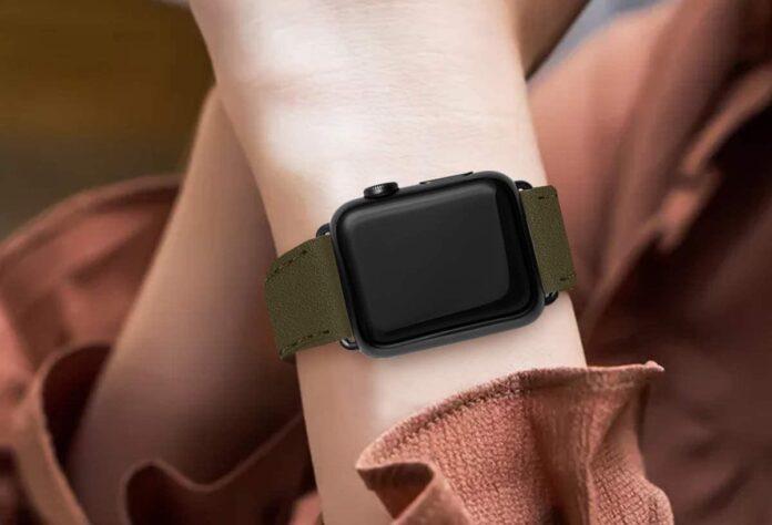 Bestig Apple Watch Leather Band