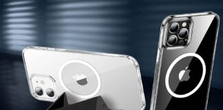 CASEKOO Magnetic Crystal Clear iPhone 12: Pro