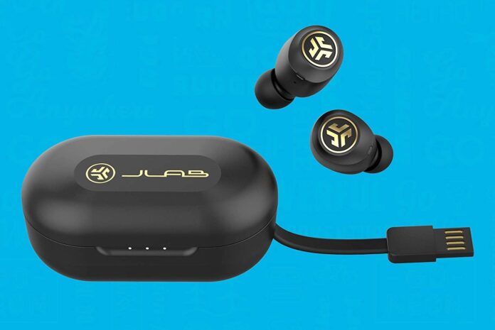 JLab JBuds Air Icon True Wireless Signature Bluetooth Earbuds