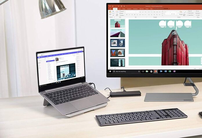 Lenovo Portable Aluminum Laptop Stand