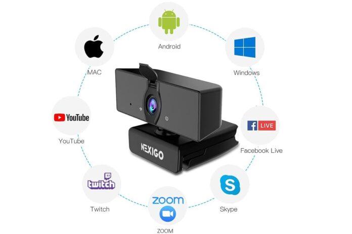 NexiGo 1080P Business Webcam