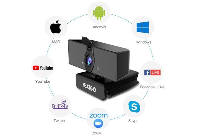 NexiGo N660 USB FHD Web Computer Camera