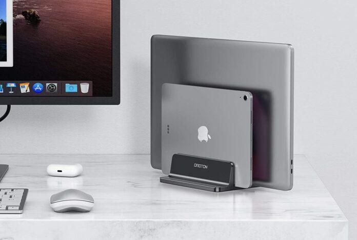 OMOTON Double Desktop Stand