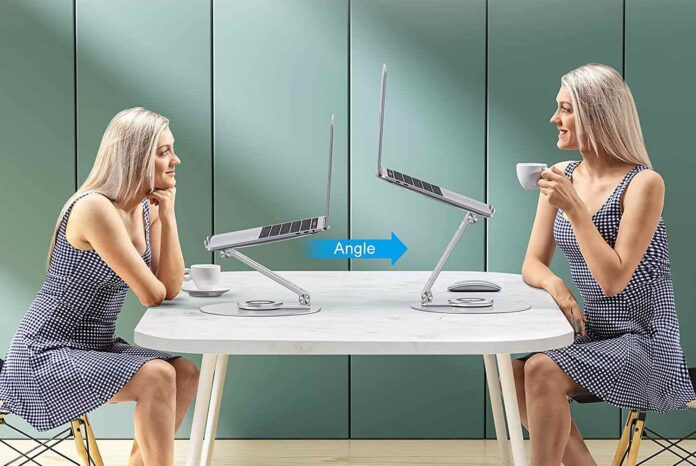OMOTON Ergonomic Laptop Riser