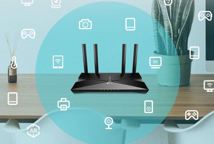 TP-Link Wifi 6 AX1500 Smart WiFi Router